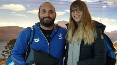La nadadora Julieta Lema es una de las representantes que tendrá Chubut en los Juegos de la Juventud. También estará Hernán Almendra, en Lucha.