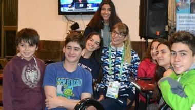 Julieta Lema participó de la presentación del II Torneo Interclubes de Natación que se realizará a fin de mes en la pileta Myfanuy Humphreys.