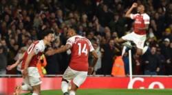 Ozil marcó el primer tanto en la victoria de Arsenal.