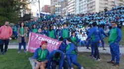 Los chubutenses se acomodaron, participaron del lanzamiento y mañana arrancan a competir.