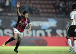 Nicolás Blandi, autor del primer gol de San Lorenzo, dijo que