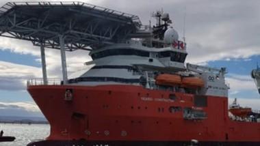 El buque Seabed se reabastecerá de provisiones, agua y combustible.