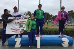 Fiorella Suspisich, de Gaiman, aportó la primera medalla para la delegación chubutense.