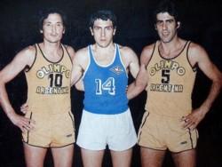 Fruet (10) lideró junto a Beto Cabrera (14) y Polo De Lizaso (5) una generación que convirtió a Bahia en la capital del Básquetbol.