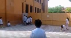 La escuela Primaria Común N° 22 Antonio Abraham Zinny, quedó envuelta en una polémica tras la viralización de un video de un grupo de niños cantando