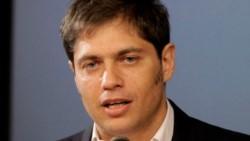 """Más Kicillof: """"Este presupuesto es muy democrático, recorta por todos lados""""."""