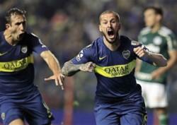 Benedetto entró y le dio un triunfazo de 2-0 a Boca sobre Palmeiras.