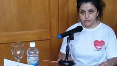 Reclamo. Myriam pidió políticas para las cardiopatías congénitas.