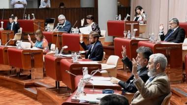 Durante la sesión de ayer no se aprobaron proyectos importantes, pero volvió a haber un fuerte debate entre los diputados.