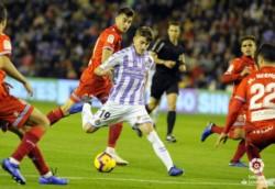 El Valladolid de Ronaldo le aguó la fiesta al Espanyol.