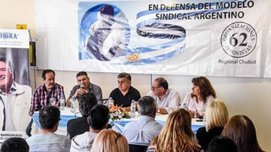 Gestiones. El sindicalismo intenta normalizar su rama política en todas las jurisdicciones, como Chubut.