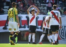 Por Superliga, River llega de ganarle a Aldosivi con un golazon del juvenil Ferreira.