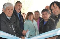 Corte de cintas. Luz y Fuerza sumó en El Maitén su cuarta sede en el interior provincial.