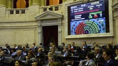 Media sanción. Diputados aprobó el presupuesto con el voto de dos representantes chubutenses.