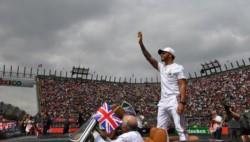 Lewis Hamilton (Mercedes) se proclamó este domingo campeón del mundo de la Fórmula 1 por quinta vez.
