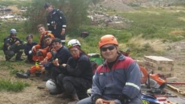 Los bomberos del Chubut se capacitaron en las múltiples variables que existen en Urban Search and Rescue.
