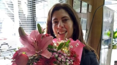 Ivana Milio, cuyo cuerpo fue encontrado por su hija con signos de haber recibido una feroz golpiza.