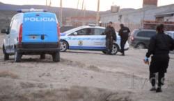Policía realizó peritaje en el lugar donde ocurrieron los hechos (foto La Vanguardia del Sur)