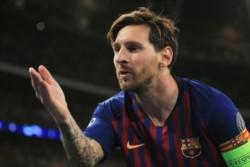 Messi tuvo un partido estupendo. Marcó dos tantos y pudieron ser cuatro, pero estrelló dos remates en el palo.