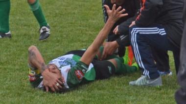 El pasado 9 de junio, Darío Pellejero sufrió rotura de tibia y peroné. Ahora, el capitán de Germinal exige un resarcimiento económico.