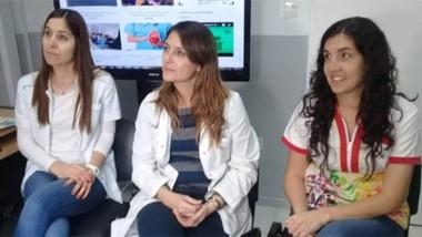 El equipo de  profesionales que pertenece al Hospital Zonal trabaja con pacientes de obesidad severa.