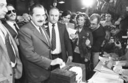 Alfonsín fue el primer presidente democrático tras la última dictadura militar
