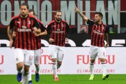 En tiempo de descuento, Milan venció a Genoa como local.