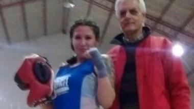 Linda Asencio, ganadora en 69 kg.