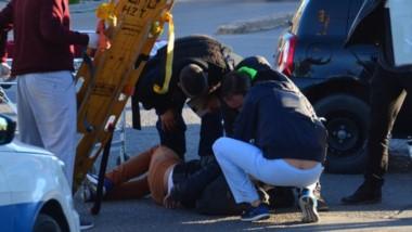 El chico tuvo que ser asistido en el Hospital por una serie de heridas contusas, explicaron en el lugar.
