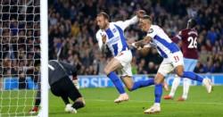 Brighton le quitó el invicto al West Ham de Pellegrini.