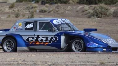 Enrique Verde se quedó con la pole ayer en la categoría TC Austral, que hoy tendrá las series y la final.
