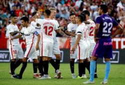 El conjunto sevillano, que hace cuatro jornadas estaban a ocho puntos del primero, son ahora los líderes de La Liga.