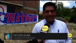 Hitler Alba Sánchez se convirtió en nuevo alcalde de un remoto distrito andino del norte de Perú.