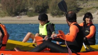 El viernes comenzó la actividad con una jornada náutica en Madryn.