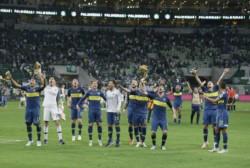 Benedetto fue la gran figura de la serie. Convirtió 3 de los 4 goles de #Boca en las semifinales ante Palmeiras, entrando desde el banco tanto en la ida como en la vuelta.