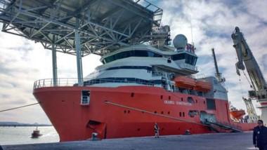 El buque noruego Seabed Constructor zarpó hoy nuevamente a la zona de búsqueda del submarino ARA San Juan.