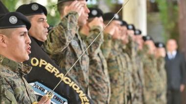 """Su lema es """"Honor, Lealtad y Sacrificio"""". GEOP nació en 1993. Su primer jefe fue MiguelGómez y era jefe de Policía entonces Manuel García  Vázquez."""