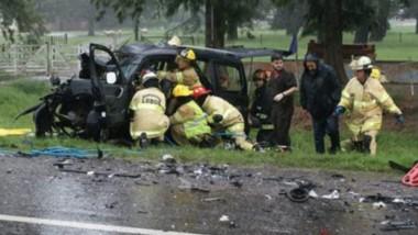 El fatal accidente se produjo en la mañana de ayer en cercanías a la localidad bonaerense de Lobos.