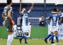 Imparable. Lisandro López marcó un doblete y ya lleva 9 en la Superliga.