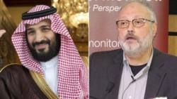 El príncipe Mohammed bin Salman, a cargo del poder en Arabia Saudita, y el periodista asesinado.