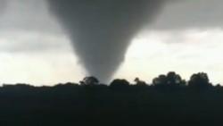 En la Argentina cada vez son más frecuentes los tornados.