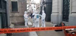 Una mujer gravemente herida al estallar una bomba casera en Recoleta.