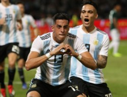Por los goles de Ramiro Funes Mori y Brizuela (en contra), la Selección de Scaloni derrotó 2-0 a México.