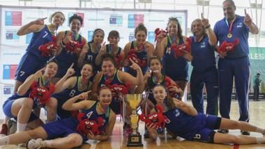 Las chicas del básquet se quedaron con la medalla de oro al vencer en la final a Magallanes por 50 a 43.