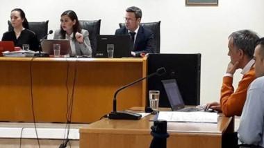 Héctor Fretes fue declarado culpable del homicidio de Luis Miguel Curiqueo. El martes se sabrá la pena.