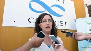 Mónica Buono, una de las organizadoras de la reunión de la RCAPA.