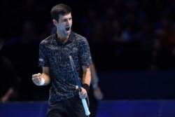 Sólida victoria de Djokovic y llegó a la final del último torneo de la temporada por sexto año consecutivo (en 2018 no jugó por lesión).
