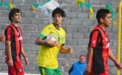 Canario marcó el primer gol del equipo rawsense.