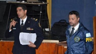 El curso  se realizó  en el Auditorio Municipal de  la ciudad de Esquel.