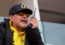 Con Maradona desde la tribuna (fue expulsado en la ida y dirigió Luis Islas), Dorados derrotó 1-0 a Mineros por el gol del ecuatoriano Vinicio Angulo.